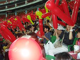福岡ヤフオクドーム野球観戦2